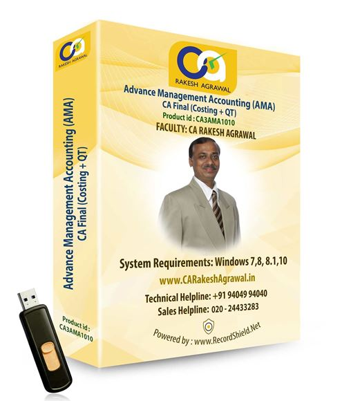 CA Final Advanced Management Accounting(Old Syllabus)